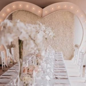 Flower Wall & Tables