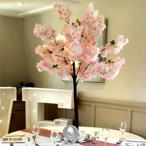 PINK TREES TABLE