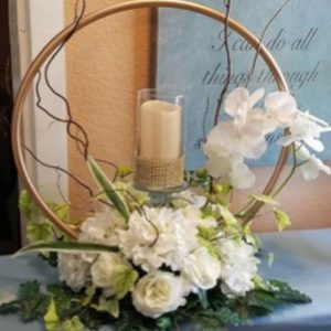 candle centre hoop