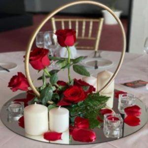 red rose hoop